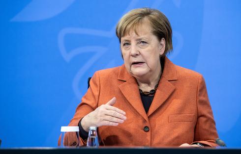 קנצלרית גרמניה אנגלה מרקל. 200 ארגוני חדשות בגרמניה התאגדו לקולקטיב ב־2013, אך הניסיון כשל והם ויתרו לגוגל על אגרה  , צילום: אם סי טי