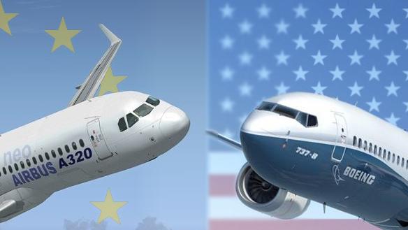 בואינג נגד איירבוס, צילום: Boeing, Airbus