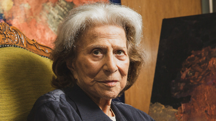 האמנית דינה רקנאטי נפטרה בגיל 93