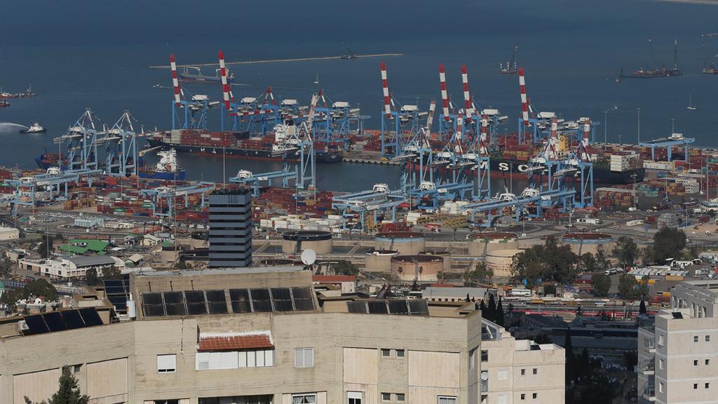 נמל חיפה. המדינה צפויה להרוויח 500–800 מיליון שקל, צילום: אלעד גרשגורן