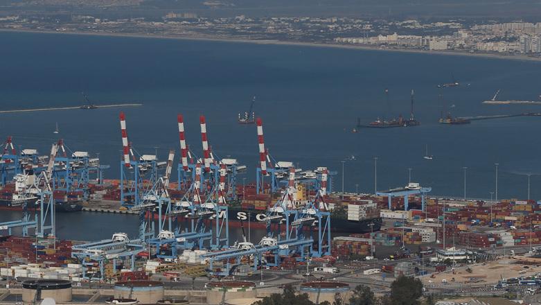 נוף ל נמל חיפה