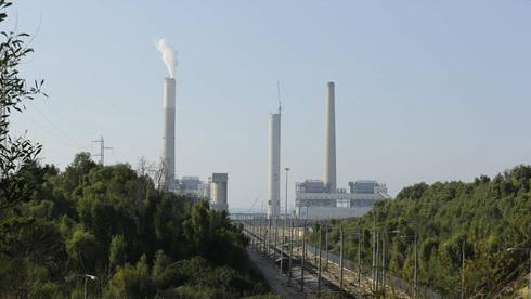 תחנת הכוח של חברת החשמל באשקלון, צילום: גדי קבלו