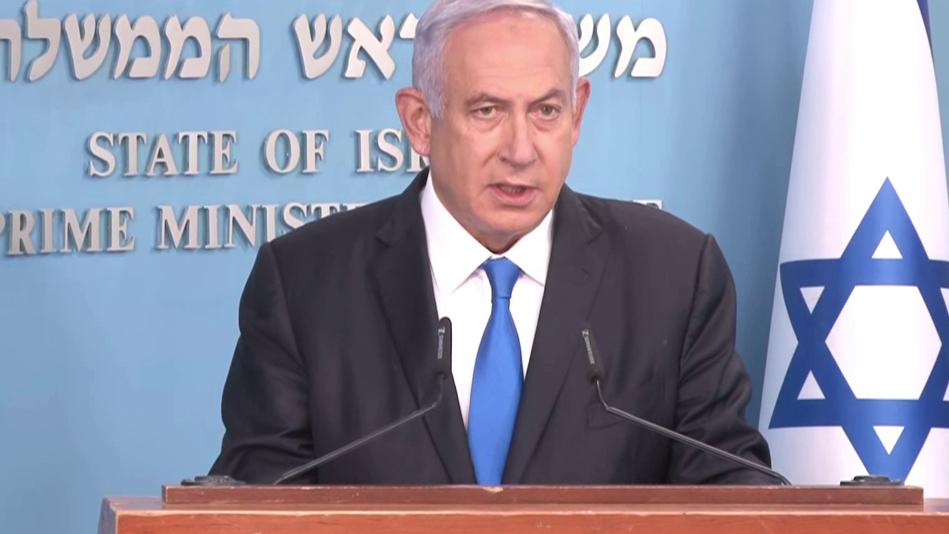 ראש הממשלה בנימין נתניהו מסיבת עיתונאים לגבי משלוח נוסף של חיסונים מ פייזר
