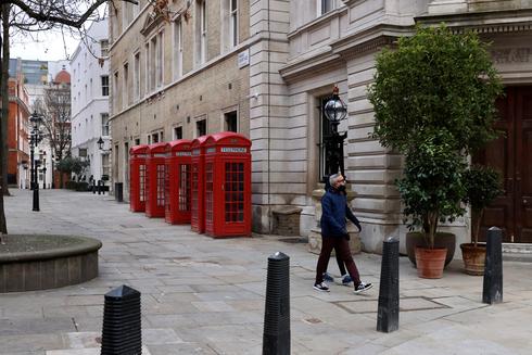 לונדון בסגר קורונה, צילום: רויטרס