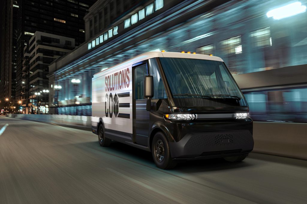 רכב חשמלי EV600 של ג'נרל מוטורס