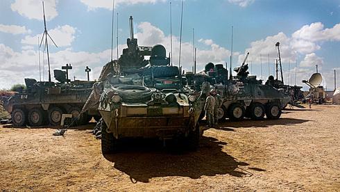 """נגמ""""ש סטרייקר, מקור: צבא ארה""""ב"""
