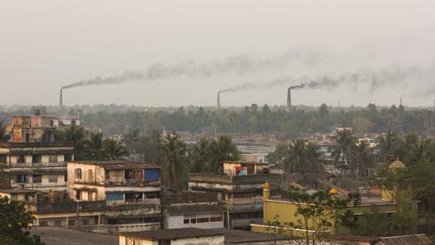זיהום אוויר בבנגלדש , צילום: שאטרסטוק