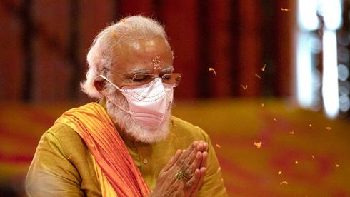ראש ממשלת הודו נרנדרה מודי, צילום: איי פי