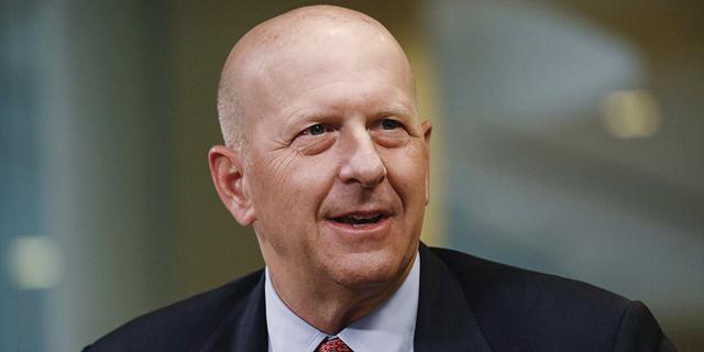 """דיוויד סולומון מנכ""""ל בנק השקעות גולדמן זאקס"""