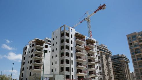 בנייה חדשה בצפון תל אביב, צילום: ענר גרין