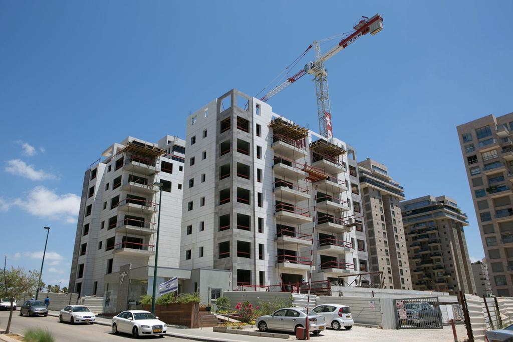פרוייקטים של בנייה חדשה ב צפון תל אביב