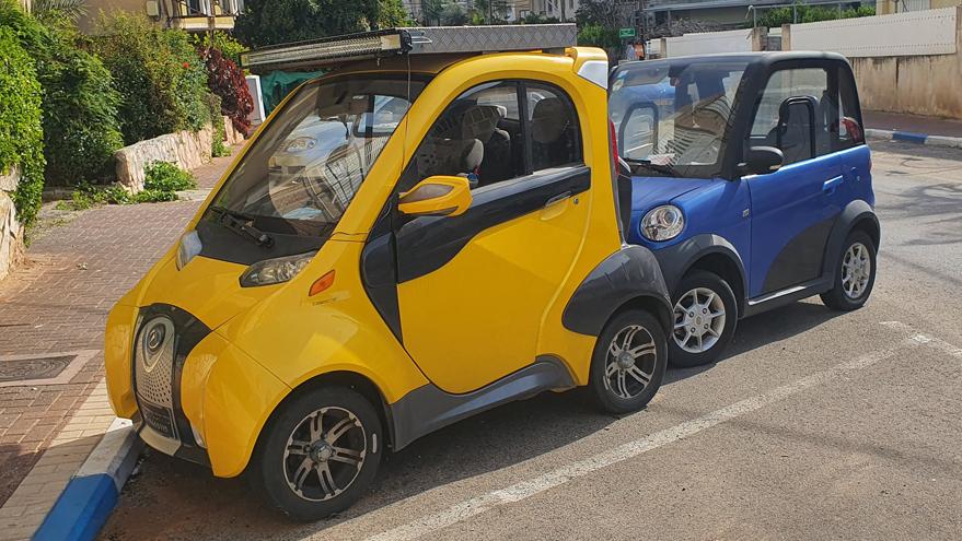 רכבי קוואדרוסייקל מכוניות