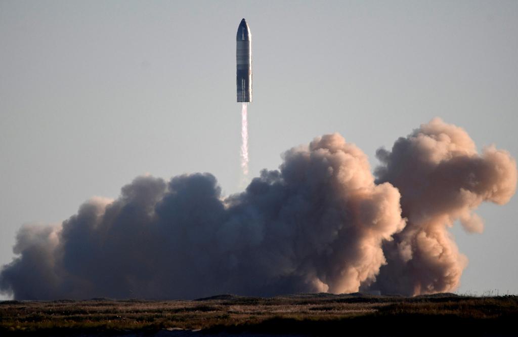 שיגור רקטה ספייסX אלון מאסק דצמבר 2020 טקסס