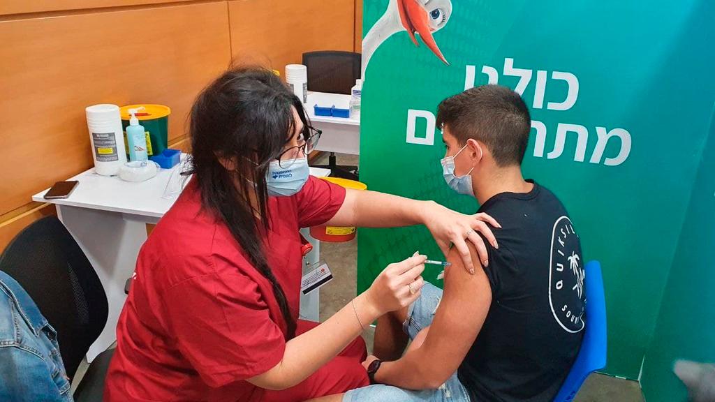 חיסון קורונה מתחסן צעיר