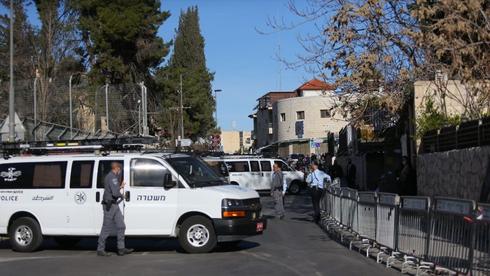 משטרת ירושלים, צילום: אלכס קולומויסקי