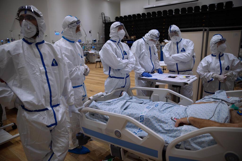 בית חולים זיו צפת קורונה צוות רפואי