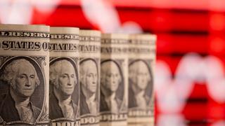 """מטבע דולר כסף ארה""""ב שטרות דולרים"""