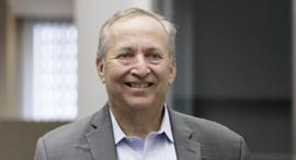 הכלכלן לארי סאמרס, שר האוצר לשעבר בממשל קלינטון, צילום: בלומברג