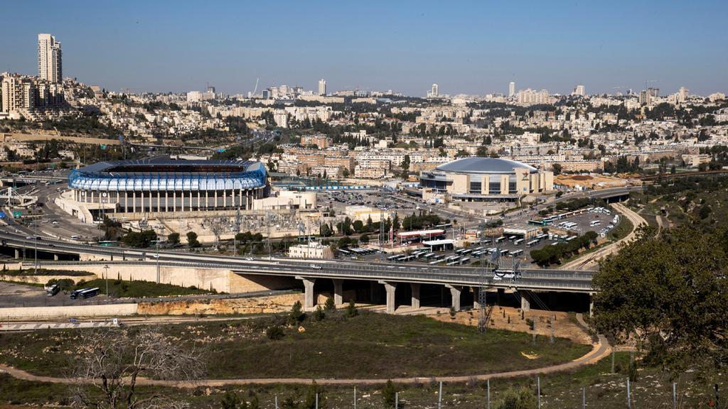 אזור אצטדיון טדי ב ירושלים