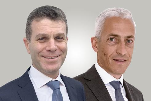 """מימין: המנכ""""ל אייל פודהורצר והמשנה למנכ""""ל יואב שפירא. מחזיקים ב־27.1% כ""""א, צילומים: יח""""צ"""