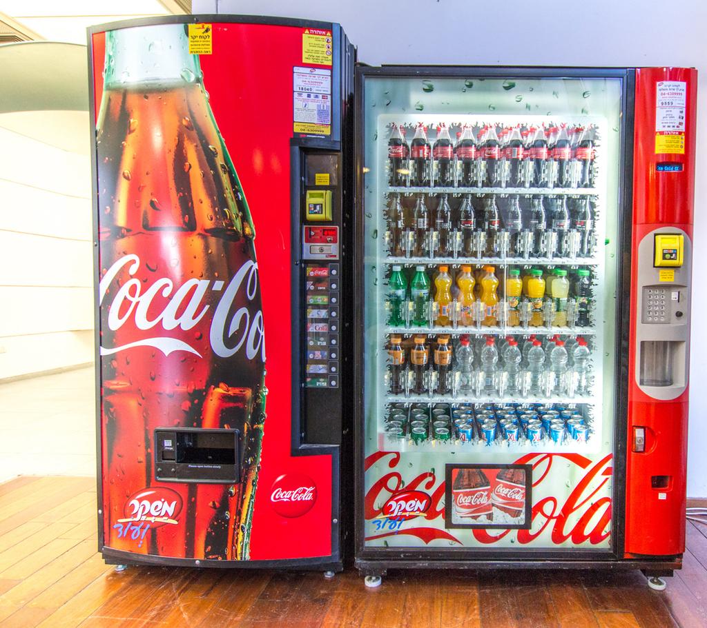מכונת משקאות של משקר