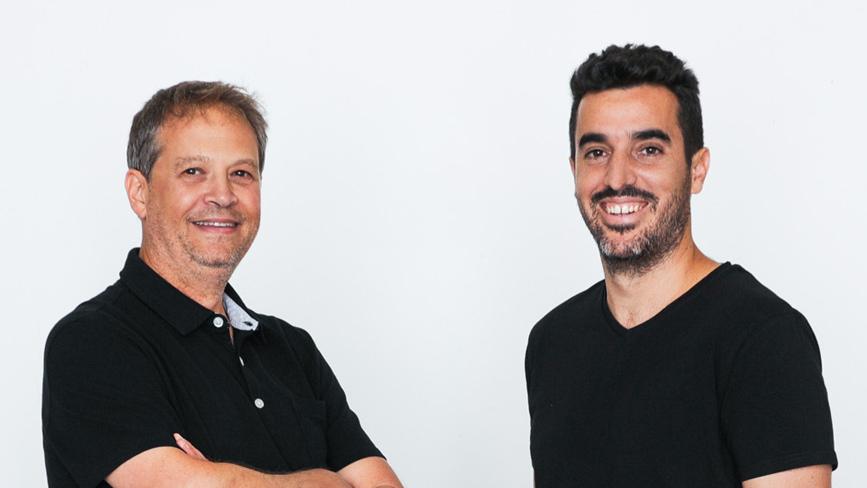 מייסדי Atera, אושרי מויאל וגיל פקלמן, צילום: Gili Levinson