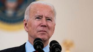 """נשיא ארה""""ב ג'ו ביידן  , צילום: אי פי איי"""