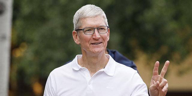 """טים קוק מנכ""""ל אפל. אפשרות לקוד סודי, צילום: בלומברג"""