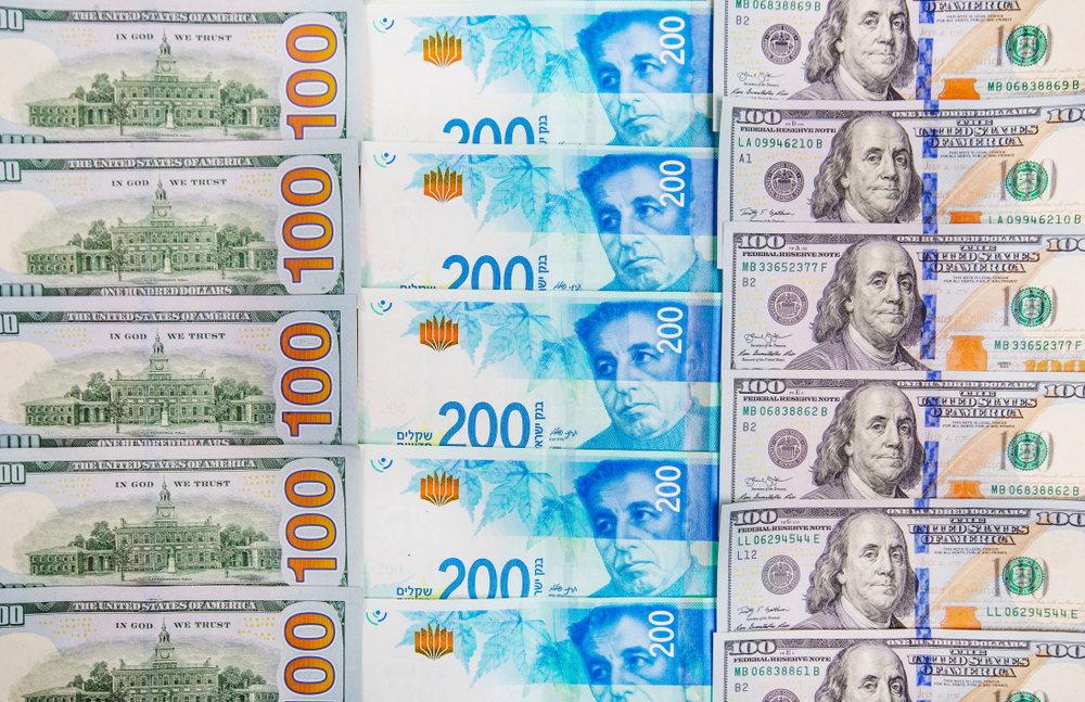 """שקל דולר מט""""ח מטבע חוץ שקלים דולרים"""