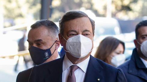"""ר""""מ איטליה מריו דראגי. שליש מהעסקים לא יצליחו לפרוע חובות, צילום: אי.פי.אי"""