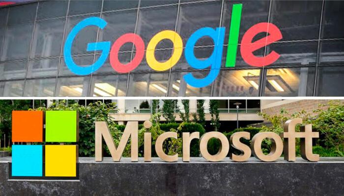 גוגל ו מיקרוסופט