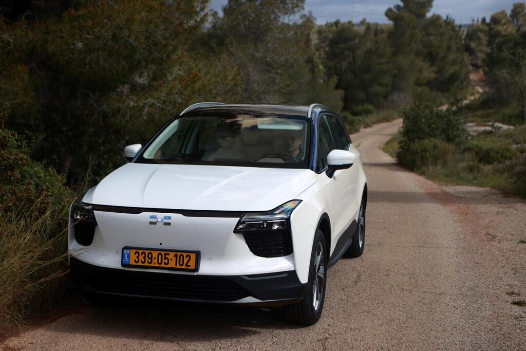מבחן רכב איווייז  AIWAYS 5 החשמלי