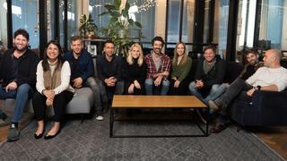 The ironSource team. Photo: Adam Primer