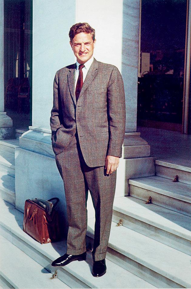 בוב סורוס בצעירותו, צילום: באדיבות YES דוקו