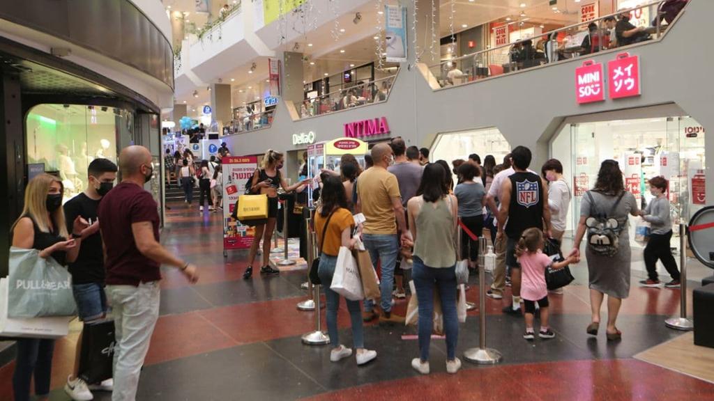 מבלים קונים קניון דיזנגוף סנטר תל אביב חופש יום בחירות 2021 שופינג קניות