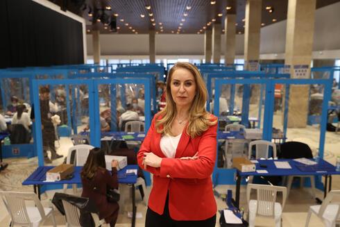 """עו""""ד אורלי עדס מנכ""""לית ועדת הבחירות, צילום: אלכס קולומויסקי"""