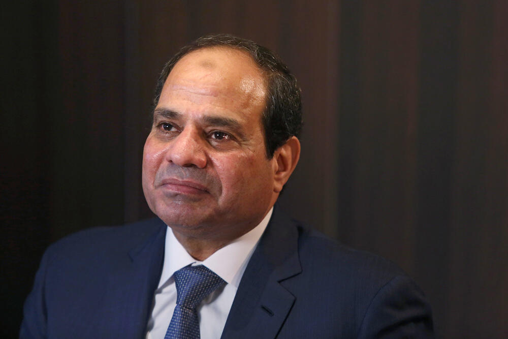 עבד אל פאתח א-סיסי אסיסי א סיסי נשיא מצרים דאבוס 2015  חדש