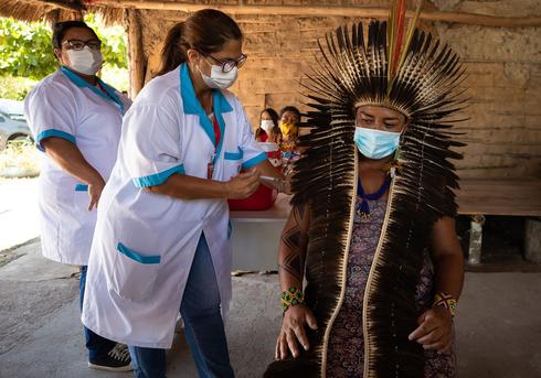 ברזיל. קצב חיסונים נמוך , צילום: גטי אימג