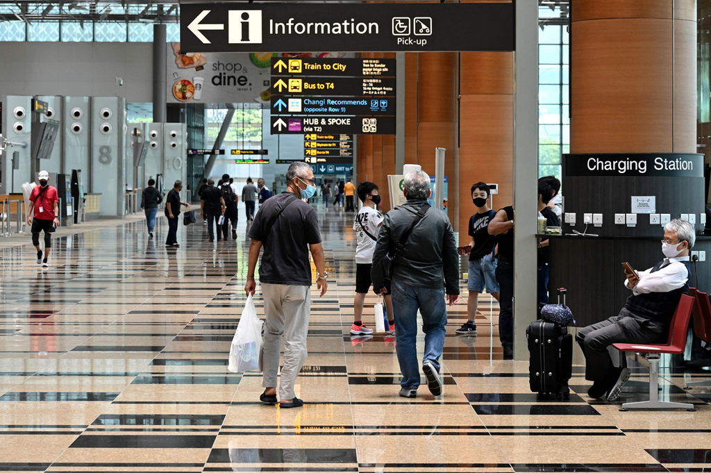 מל התעופה ב סינגפור במרץ