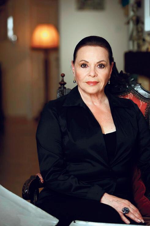 השחקנית גילה אלמגור, צילום: עידו לביא