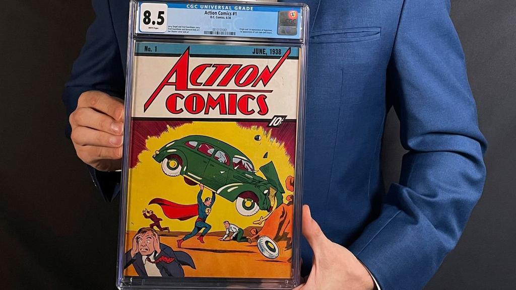 קומיקס הסופרמן הראשון נמכר במחיר שיא - 3.25 מיליון דולר
