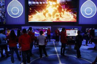 ימים תמימים יותר תערוכת E3 בשנת 2019, צילום: בלומברג