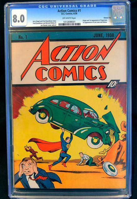 קומיקס סופרמן הראשון, AP