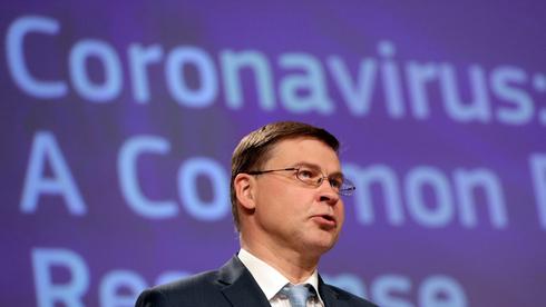 ולאדיס דומברובסקיס, נציב הסחר של האיחוד האירופי, צילום: רויטרס