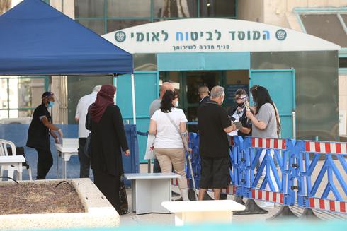 """אבטלה ביטוח לאומי מובטלים חל""""ת, צילום: אלעד גרשגורן"""
