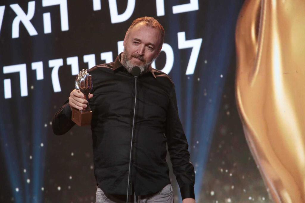 שלום אסייג טקס פרסי האקדמיה הטלוויזיה טלוויזיה