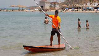 חוף סירונית ב נתניה, צילום: עוז מועלם