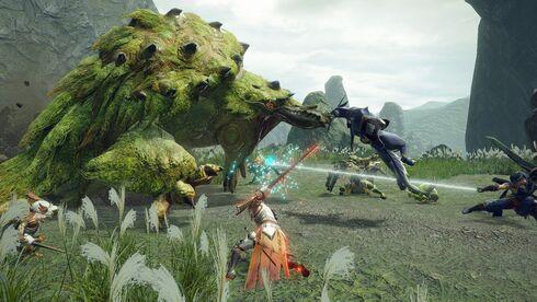 כדאי מאוד שתהיה לכם תוכנית טובה, מתוך Monster Hunter: Rise