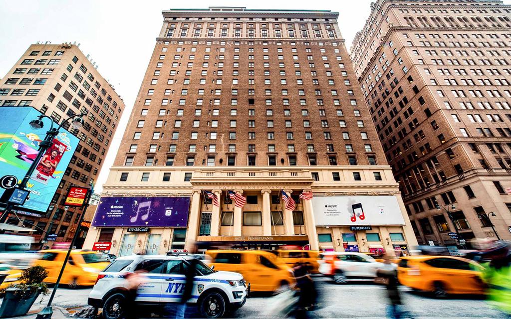 מלון פנסילבניה נסגר ניו יורק שדרה שביעית מנהטן 1