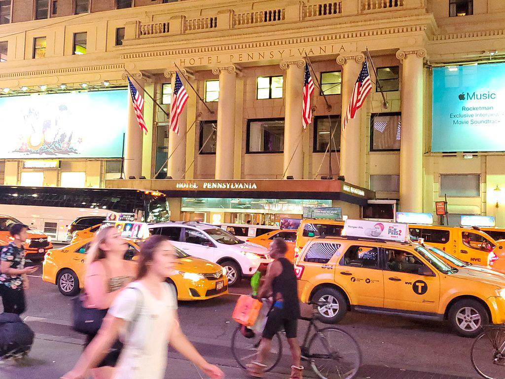 מלון פנסילבניה נסגר ניו יורק שדרה שביעית מנהטן 3